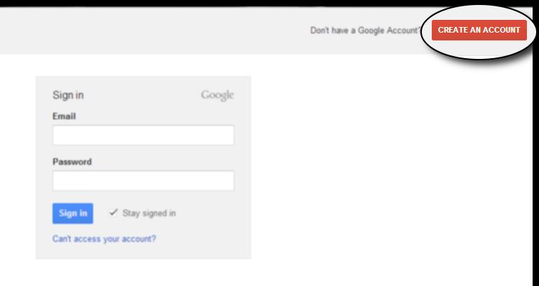 Create a Google+ Profile
