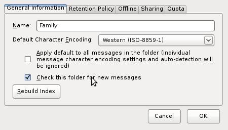 Screenshot-Folder Properties