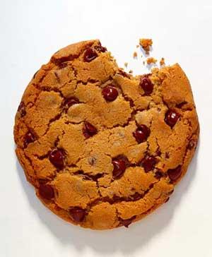 Half-eaten Cookie