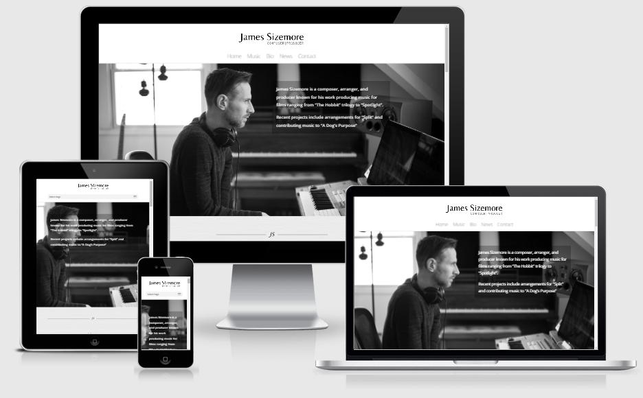 James Sizemore Website