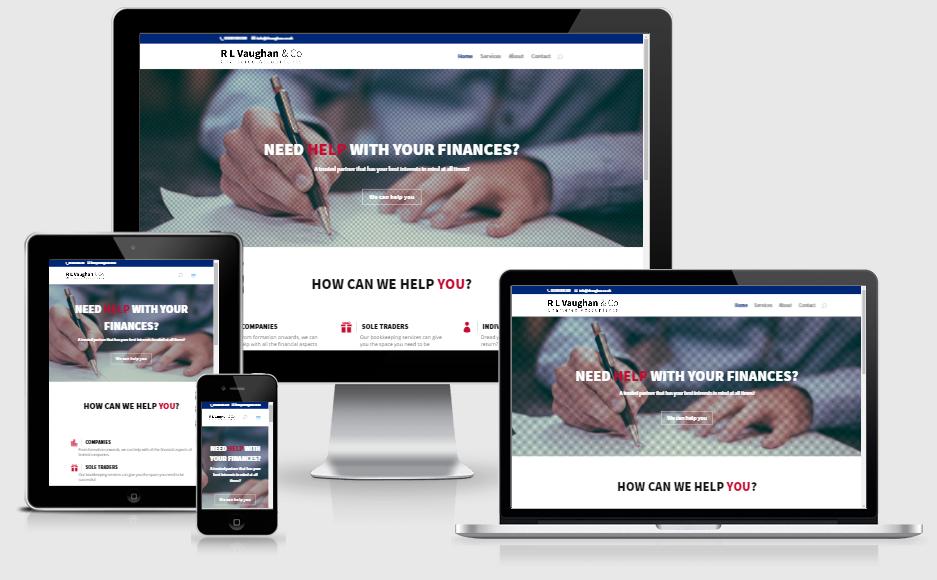 R L Vaughan Website